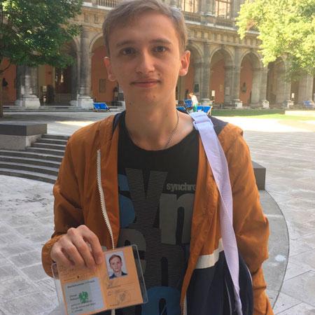 Максим, студент ВГУ, информатика