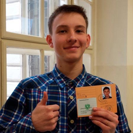 Виталий Романив, студент ВГУ, транскультурные коммуникации, информатика