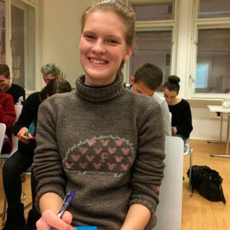 Мария Долина, студентка Венского главного университета, юриспруденция