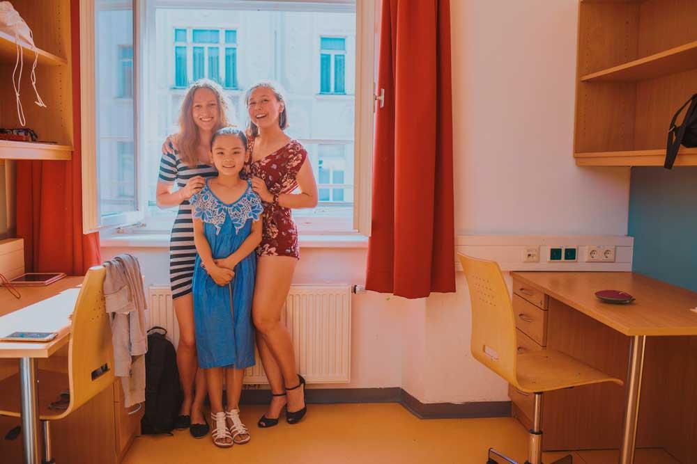 дети летнего Лагеря в Вене