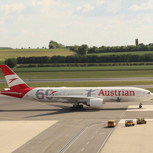самолет по приезду в Вену 2