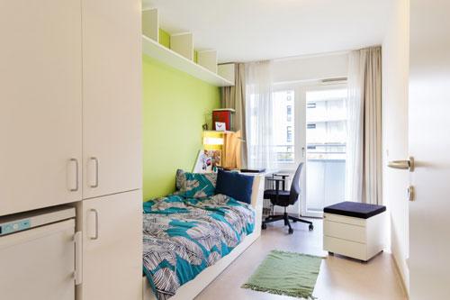 комната студента Австрии